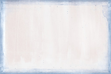 pastel pink texture background with blue border