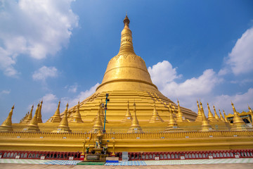 Shwemawdaw pagoda the 1 of 5 most holy respect pagoda in Myanmar