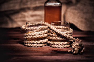 Image result for whiskey and rope