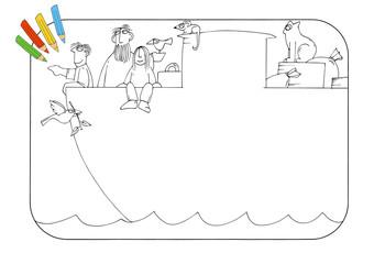 Coloring book ark