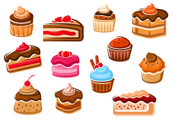 Cakes, cupcakes, pies, pudding and desserts