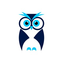 Owl Simple Design Logo