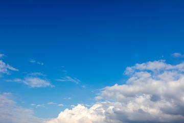 View white cloud
