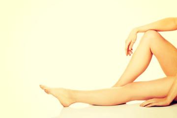 Perfect female legs