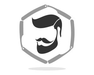 Barber Hair Cut Beard