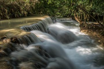 Fresh Water Falls in Laos
