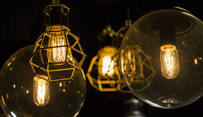 Retro style lighting decoration