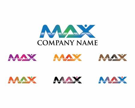MAX Letter Logo