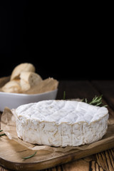 Portion of creamy Camembert