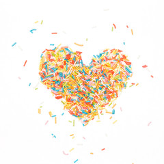Sprinkles Heart