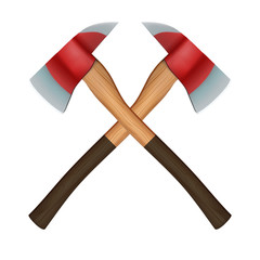 Firefighter Axes symbol