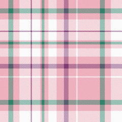 pink, white, green and magenta square background with plaid effect