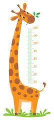 Giraffe meter wall