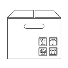 Box Package Icon symbol Illustration design