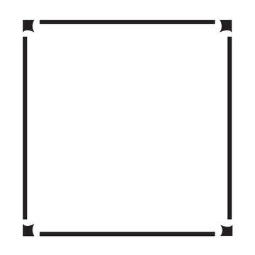 Frame border art Illustration design