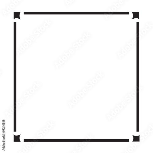 frame border design. Frame Border Art Illustration Design O