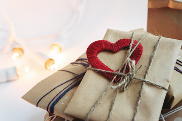 Stylish craft presents for special occasions, happy valentine's
