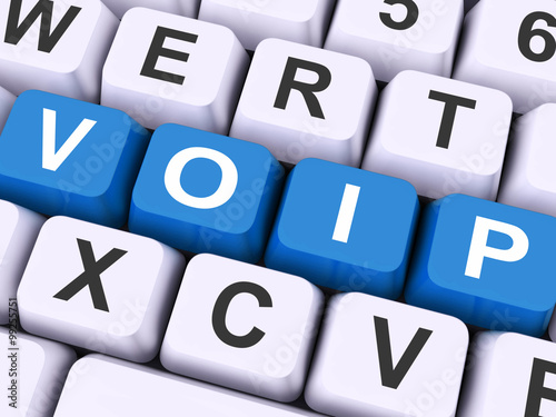 Voip Keys On Keyboard Show Voice Over Internet Protocol