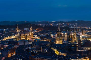 Aachen Aix-La Chapelle Aken