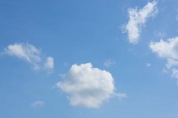 blu sky and white cloud