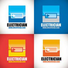 logo électricien artisan