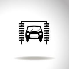 Icon of car wash.