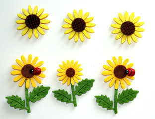 Handmade Sunflowers