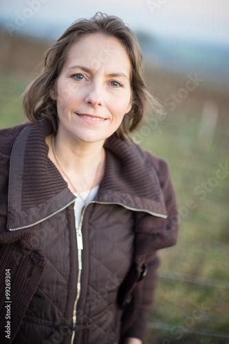 portrait de femme mature de 50 ans