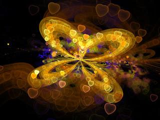 Fractal butterfly