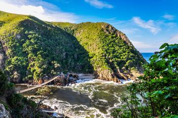Hängebrücke Tsitsikamma Nationalpark; Südafrika