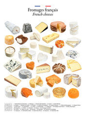 French cheeses / Fromages français
