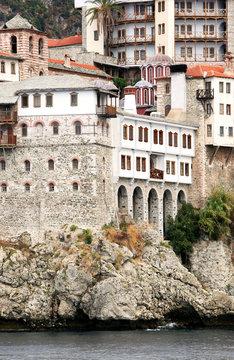 St. Gregoru Monastery on Mount Athos