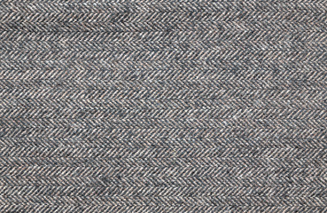 Close up of a brown tweed fabric