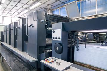 Macchine industriali per stampe a 5 colori