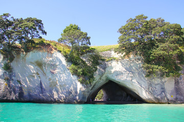 Foto op Textielframe Cathedral Cove cathedral cove