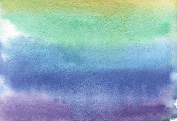 Watercolor use as background