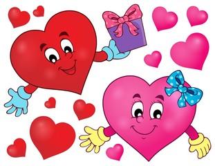 Stylized heart theme image 2