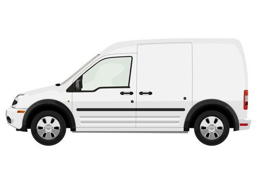 White light truck