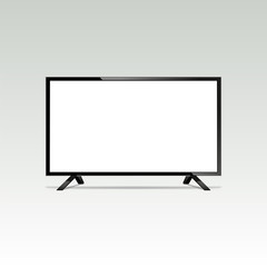 LCD or LED tv screen