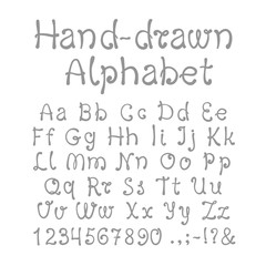 Hand-drawn Alphabet