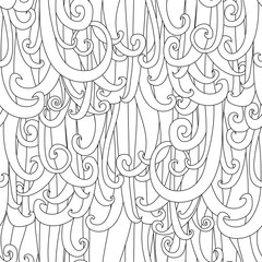 zentangle  ringlets background