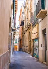 Wall Mural - Altstadt Gasse Alte Antike Häuser Fassaden