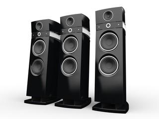 Hi-tech speakers