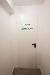 Ladies locker room