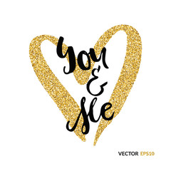 You and me gold