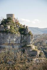 Tour de Balazuc en Ardèche