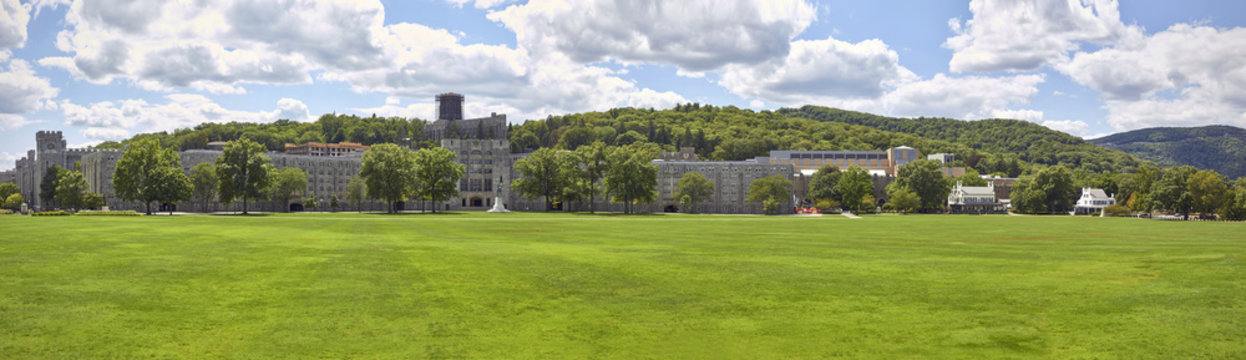 The Military Academy at West Point, New York.