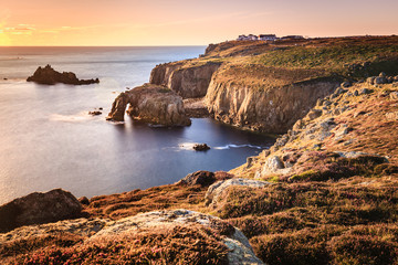 Sonnenuntergang Land's End - Cornwall, England