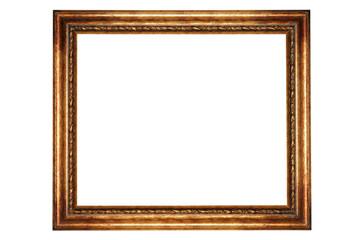Golden frame.
