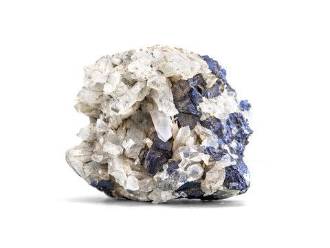 Galena metallic ore mineral sample a rare earth mineral of zinc